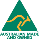 Australian Made Owned full colour logo 128